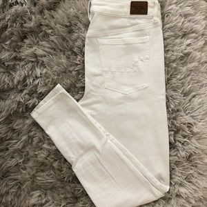 White AE Jeans Worn Once!